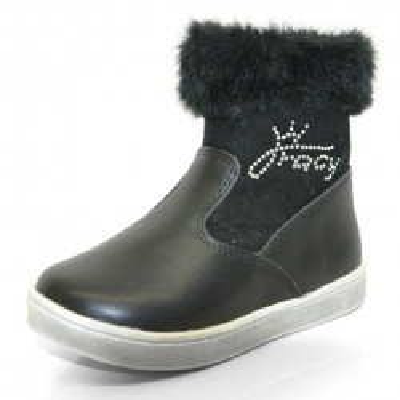 Čizmice za devojčice BX50519 crne
