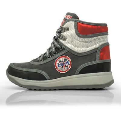 Čizmice za devojčice CH50618 sive