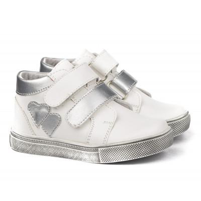 Dečije cipele sa anatomskim uloškom 1065 bele