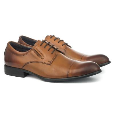 Kožne muške cipele 8868-6 braon