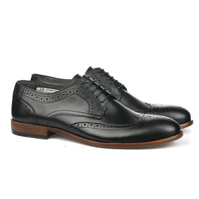 Kožne muške cipele Aparta crne
