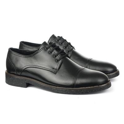 Muške kožne cipele 5821 crne