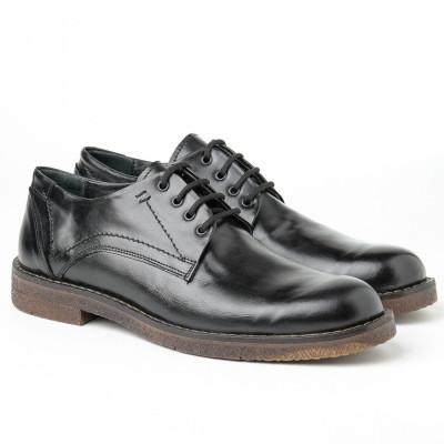 Muške kožne cipele 5988-01 crne