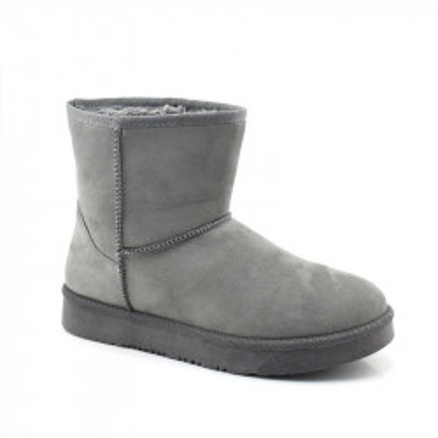 Poluduboke tople čizme LH96157 sive