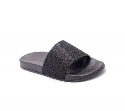 Ravne papuče LP055719 crne