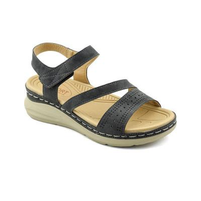 Sandale na debelom đonu LS020314 crne