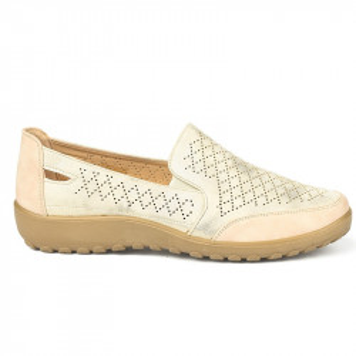 Ženske cipele / mokasine L90300 bež