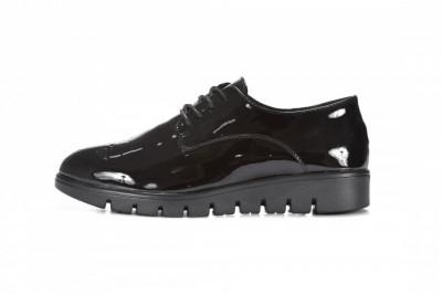 Ženske lakovane cipele L082024 crne