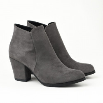 Ženske poluduboke čizme FD0201 sive