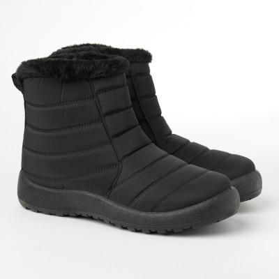 Zimske poluduboke čizme CA542-1 crne