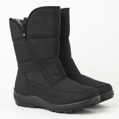 Zimske poluduboke čizme LH95415 crne