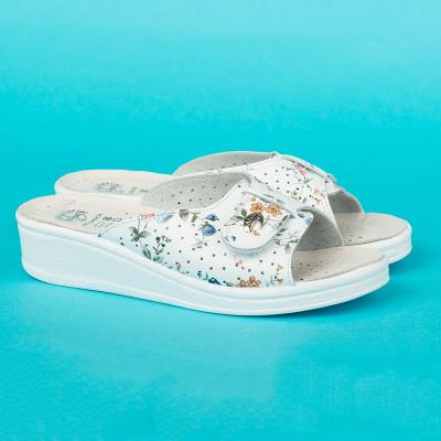 Anatomske papuče MEDICAL 312-SF bela
