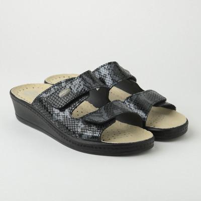 Anatomske papuče MEDICAL 410-1-SF crne