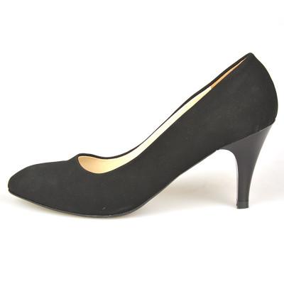 Cipele na malu štiklu LK200 crne