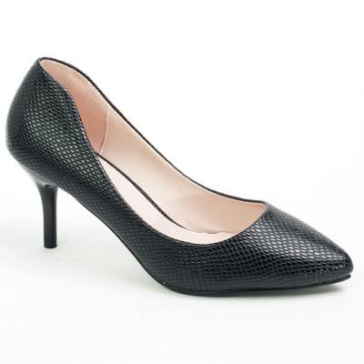 Cipele na malu štiklu WSH06001 crne