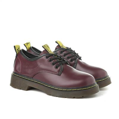 Cipele na pertlanje C426 bordo