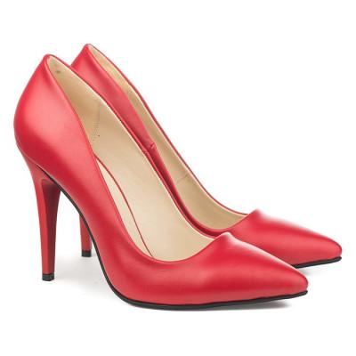 Cipele na štiklu 5010 crvene