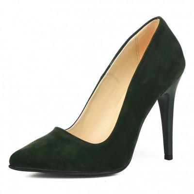 Cipele na štiklu 5010  zelene