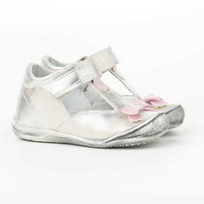 Dečije cipele sa anatomskim uloškom 1010 srebrne