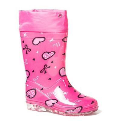 Gumene dečije čizme CH2256 pink (veliki brojeviI)