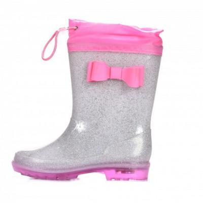 Gumene postavljene čizme CH122008 pink