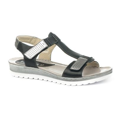 Italijanske kožne sandale 340065 teget