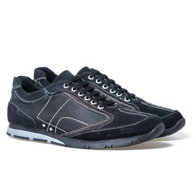 Kožne cipele/patike 24122 crne