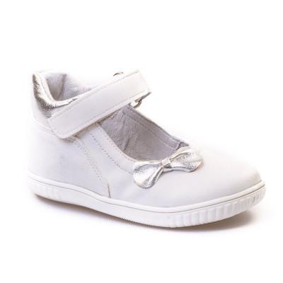 Kožne dečije cipele sa anatomskim uloškom 320 bele