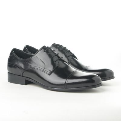 Kožne muške cipele 362-047 crne
