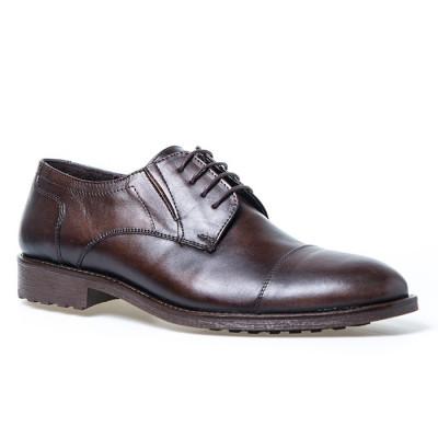 Kožne muške cipele C6902 braon