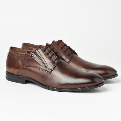 Kožne muške cipele Gazela 3380 braon