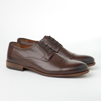 Kožne muške cipele Javina braon