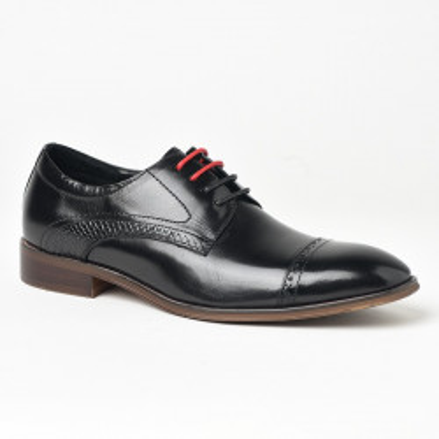 Kožne muške cipele P6503 crne