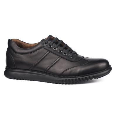 Kožne muške cipele/patike Cool 01 crne
