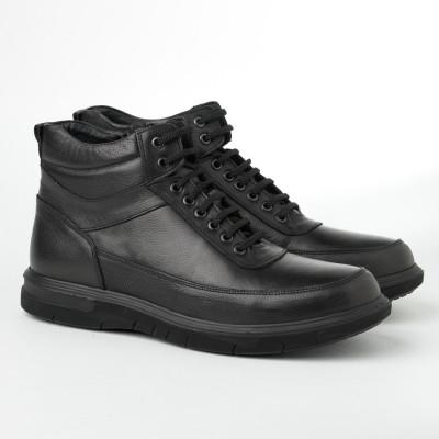 Kožne muške duboke cipele 2806 crne