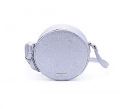 Okrugla torbica T021701 srebrna