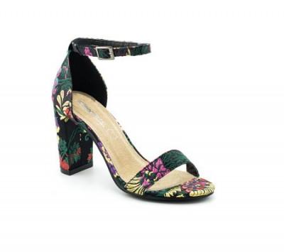 Sandale na štiklu LS91556 crne