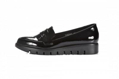 Ženske lakovane cipele L082023 crne