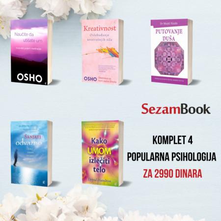 POPULARNA PSIHOLOGIJA KOMPLET 4