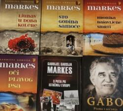 Akcija 6 knjiga Gabrijela Garsije Markesa za 3640 dinara. Komplet 2