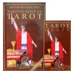 SLIKOVNI KLJUČ ZA TAROT + KARTE