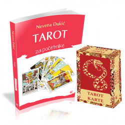 Tarot za početnike sa kartama - Nevena Đukić