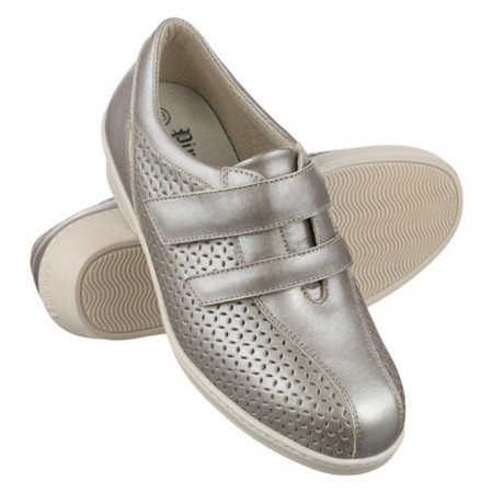 Pantofi ortopedici piele cu perforatii Pinosos 6951-P39