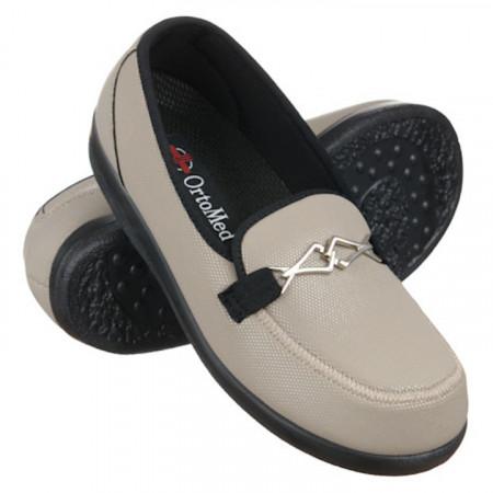 Pantofi diabetici talpa joasa femei OrtoMed 6037-S96L