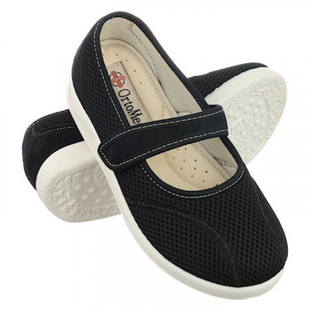 Pantofi ortopedici de vara dama OrtoMed 6089-T21 foarte usori