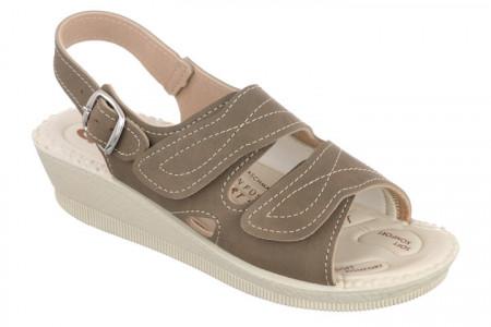 Sandale pentru monturi / Hallux Valgus maro dama Mjartan 2815-N14