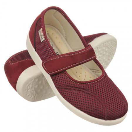 Pantofi ortopedici de vara dama OrtoMed 6089-T16 foarte usori