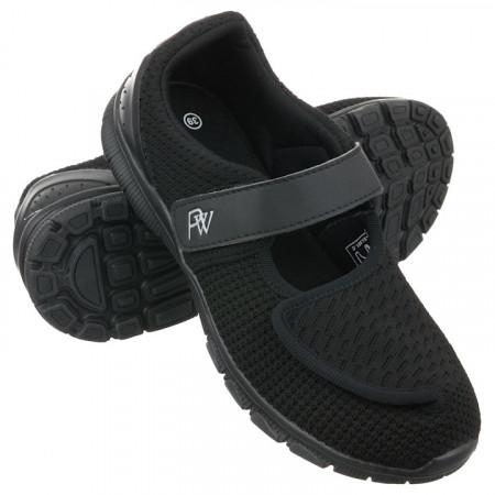 Pantofi sport ortopedici negri dama Hallux Valgus PodoWell Vadim