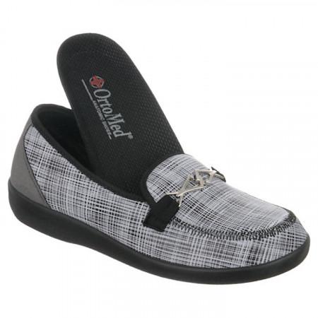 Pantofi ortopedici dama pentru monturi OrtoMed 6037-S55 brant detasabil