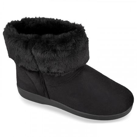 Ghete ortopedice, imblanite cu lana, pentru femei, Mjartan 033-T44 negre